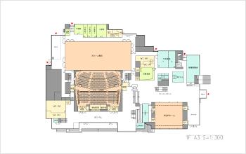 フロア図(1階)