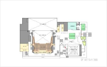 フロア図(2階)